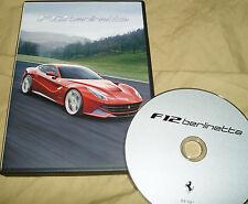 FERRARI F12berlinetta Video DVD - no brochure Prospekt catalogue 95998133 F12