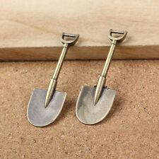 16Pcs Vintage Bronze Shovel Pendant DIY Bracelet Necklace Charm Jewelry Fashion