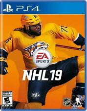NHL 19 Playstation 4 (PS4) - Brand New Factory Sealed - Free Shipping!
