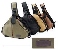 Shoulder bag for Canon Nikon SLR camera diagonally with rain cover camera bag