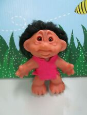 """1968 ORIGINAL UNUSUAL FACE PLAYMATES TROLL - 4 1/2"""" Dam Troll Doll"""