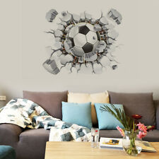 Football Soccer Ball Wall Sticker Kids Room Decal Home Room Decor Stickers PVC