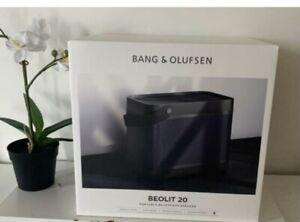 Bang&Olufsen Beolit 20 Bluetooth Speaker Black Anthracite Brand New Seale