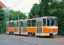 Ansichtskarte: historischer Kurzgelenkwagen KT4D, Triebwagen 1308, Straßenbahn