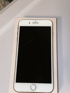 Gently Used iPhone 8 Plus 64GB ROSE GOLD UNLOCKED / metro PCS with the box