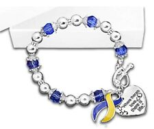 Down Syndrome Awareness Where There is Love Bracelet