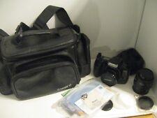 Minolta Maxxum 300si 35mm SLR Film Camera + AF 35-70 Lens + Polarizer & Bag