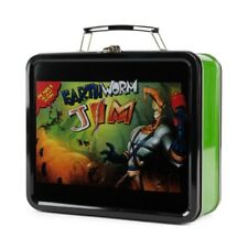 Loot Crate Gaming Metal Tin Earthworm Jim Lunch box Get It Fast ~ Us Shipper