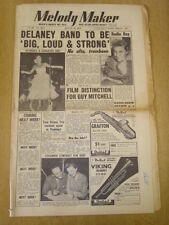 MELODY MAKER 1954 AUGUST 28 ERIC DELANEY GUY MITCHELL FLAMINGO CLUB RAY MARTIN