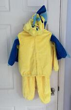 Kids Unisex Fancy Dress Disney Little Mermaid Flounder Fish Size 4 T