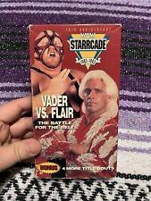 WCW: Starrcade 1993 VHS, NWA, WWF, WWE, Flair, Vader