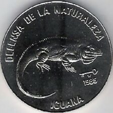 Iguana 1 Peso 1985 Endangered Species - Protect the Environment