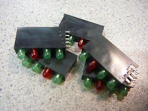 KINGBRIGHT Quad-Level 3mm CBI (LED), Array, Green/Red/Green/Green  **NEW** 5/PKG