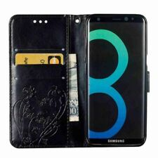 Flip Leather Wallet Phone Case Cover With Strap For Samsung Galaxy S6 / S7 Edge