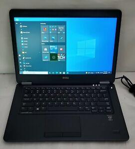 """Dell Latitude E7450 - 14"""" - Core i7 5600U - 8 GB RAM - 500GB HDD - Windows 10"""