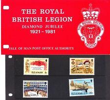 Isle of Man 1981 Royal British Legion Presentation Pack