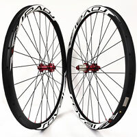 29er MTB carbon Fiber wheels Asymmetrical 33mm mountain bike wheelset M42 hub