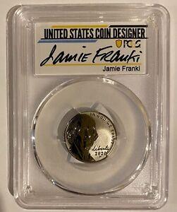 2020 W Jeff Nickel PCGS REV PF70 JAMIE FRANKI signed & 2020 S Silver PF Set RARE