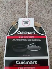 Cuisinart 622-30DF Chef's Classic Nonstick Hard-Anodized 12-Inch Deep Fry Pan