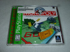 FACTORY SEALED PS1 PLAYSTATION VIDEO GAME MONOPOLY BRAND NEW NFS