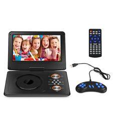 """11"""" Zoll Tragbarer DVD Player 270° Drehbar USB SD Auto Fernbedienung CD Spieler"""