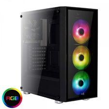 Aerocool Quartzrgb Midi-tower Nero vane portacomputer (aerocool Quartz RGB Mid T