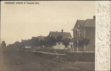 Wabasso MN Prosperity Ave Homes c1910 Real Photo Postcard