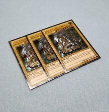 3x Yugioh Blue-Eyes White Dragon Ultimate Rare YSKR-EN001 Near Mint Card Playset
