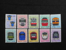 JAPAN COMMEMO STAMPS ( RAILROAD SERIES NO.4-2 ) USED