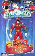 "Power Rangers Wild Force Hero Series 14 RED Ranger  New 5"" Factory Sealed 2006"