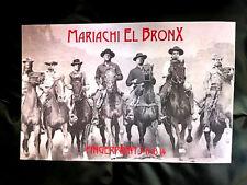 Mariachi El Bronx - Live At Fingerprints 11/18/14 Concert Poster Orig Press Punk