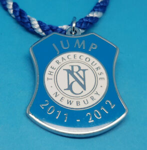 Newbury Horse Racing Members Badge (Jumps) - 2011 / 2012