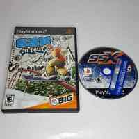 PS2 SSX Original & On Tour PlayStation 2 Game Lot Black Label EA Sports