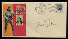 Daniel Boone Fess Parker Featured on Collector's Envelope *OP1299