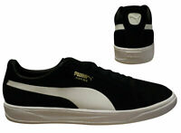 Puma Suede Ignite Black White Lace Up Low Top Mens Trainers 364069 02 B87B