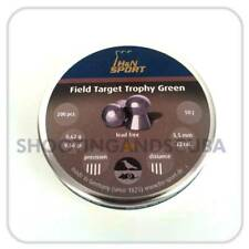 H&N Field Target Trophy Green .22 (5.5mm) ~Tin of 200 pellets for Air Gun Rifle
