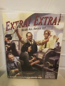 New Board Game - Extra! Extra! Read All About It! Mayfair Games by Andrew Bond