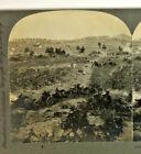 1900 Stereoview Civil War Battle Of Gettysburg General Howards Position Keystone