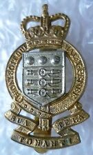 Vintage Royal Army Ordnance Corps Regimental Cap Badge QC (Bi-Metal)