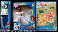 Ariel Doll Bride Eric Wedding Dress N Fin Fashion Little Mermaid Tyco Disney