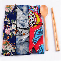 Chopsticks Spoons Japanese Natural Wood Bamboo Chopsticks Handmade Gift Pocket