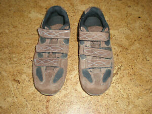 (7.5) Specialized MTB Shoes Mountain Biking Body Geometry BG Cycling Brown Suede