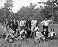 Photograph Vintage Civil War Army Scouts & Guids of the Potomac 1864    8x10