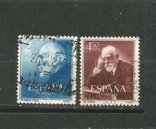 Spanien Edifil #1119-1120 (0) Gebraucht Konvektorofen Cajal und Ferran 1952