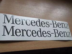 MERCEDES BENZ SPRINTER  back door Replacement decal Sticker x2