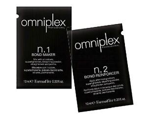 Omniplex Farmavita - soin complet régénérant fibre capillaire - kit 2 doses 10ml