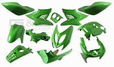 Verkleidung Verkleidungsset 12 Verkleidungsteile Grün für Yamaha Aerox MBK Nitro
