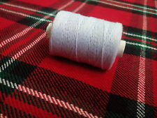 Waxed White Bagpipe Hemp Practice chanter reeds pipe 50g roll