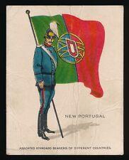 1915 T105 Zira Cigarettes -STANDARD BEARERS -New Portugal *Tier 2-Tough*