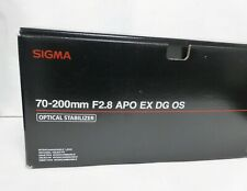 Sigma 70-200mm f/2.8 APO DG HSM OS lens for Nikon  mount DSLRs - Boxed